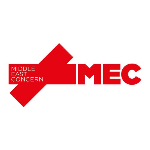 Mec logo horizontal red print
